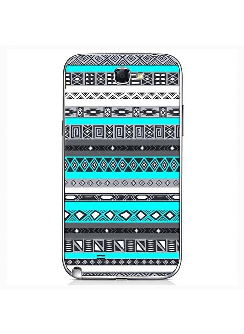 People's Cover Samsung Note 2 Kabartmalı Telefon Kılıfı Renkli
